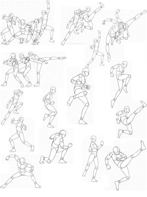 Drawing References Poses by Bodies 12 By Fvsj On Deviantart Gt Gt Pose