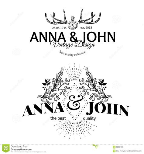 vector wedding design elements and calligraphic page decoration vector design elements and calligraphic page stock vector