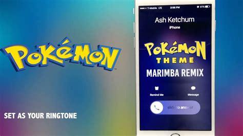 Pokemon Theme Ringtone Mp3 Download | pokemon theme marimba remix ringtone youtube