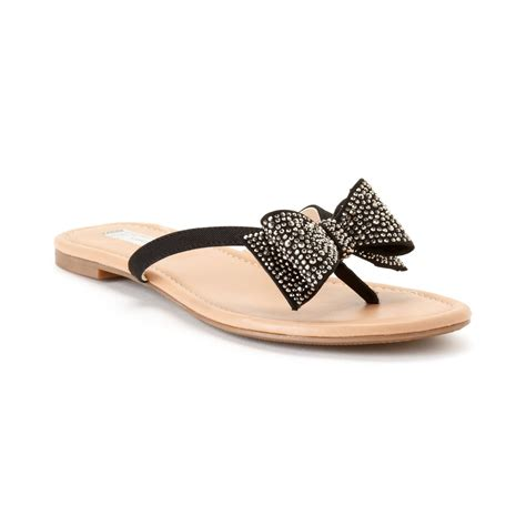 bow sandals inc international concepts womens maey bow sandals