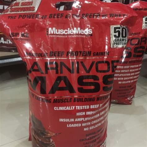 Suplemen Carnivor Mass musclemeds carnivor mass 10 lbs