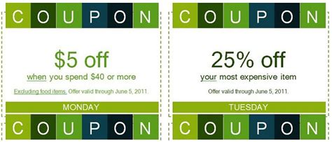 Coupon Cards Template Word by 50 Free Coupon Templates Template Lab