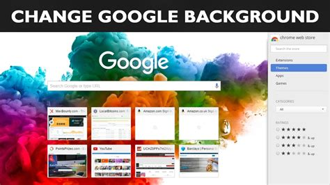 google themes that change how to change wallpaper on google chrome homepage