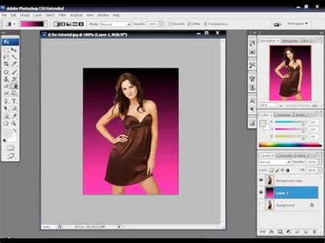 adobe photoshop tutorial removing background how to remove background around lots of hair photoshop