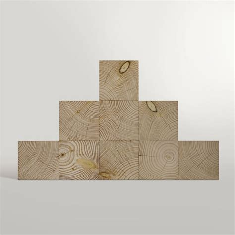 minimalist cubic shelf of douglas fir digsdigs