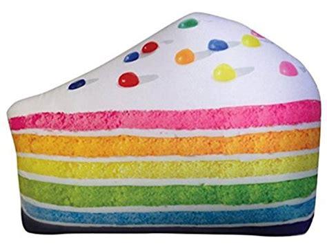 Abest Cotton Pink Slice Cake Squishy iscream treats vanilla scented of cake