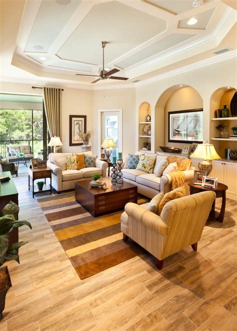 homely traditional living room designs