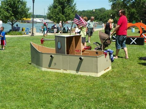 cardboard boat for play 17 best images about cardboard boats on pinterest food