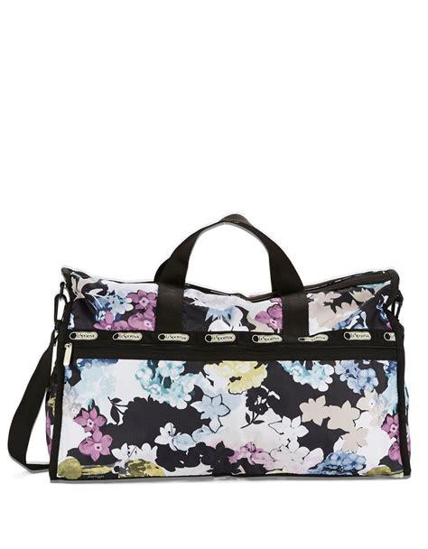 Balenciaga Floral Weekender by Lyst Lesportsac Xl Floral Print Weekender Bag
