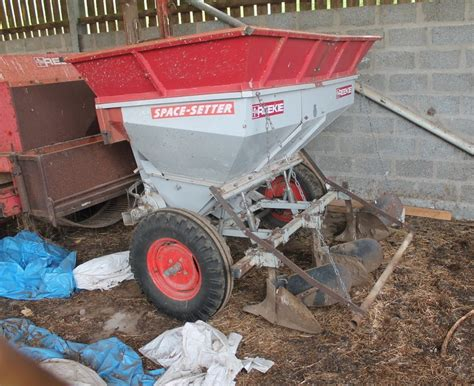 Reekie Potato Planter by Dingwall Highland Marts Limited Dingwall Ross Shire
