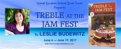 treble at the jam treble at the jam by leslie budewitz escape with