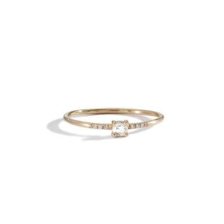 What do you think of simple, dainty, tiny engagement rings