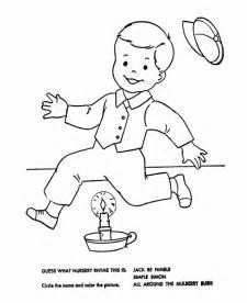 bluebonkers nursery rhymes quiz coloring page sheets