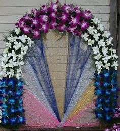artificial flower decoration for home ecofriendly ganpati decoration ideas ganapati decoration