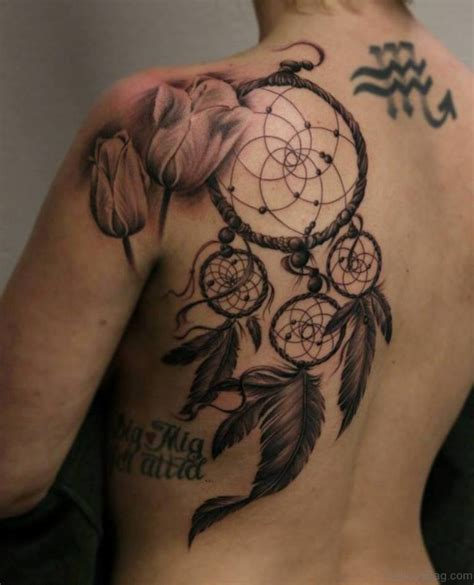 dreamcatcher tattoos on back 60 admirable dreamcatcher tattoos on back