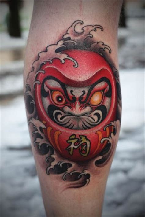 simple japanese tattoo designs 29 simple daruma doll tattoos