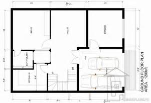 Home Blueprint Design by 5 Marla House Plan Gharplans Pk