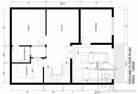 home plans floor plans 5 marla house plan gharplans pk
