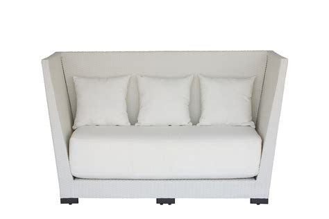 high couch white high back rattan sofa fresh event hire