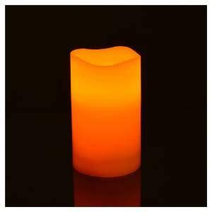 candele a pile candele a led in vera cera 3 pz a pile vendita su