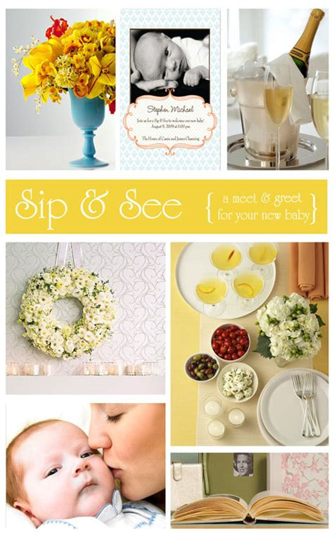 Meet And Greet Baby Shower Ideas by Sip See A Meet Greet For Baby