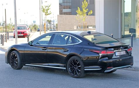 New Lexus Ls by Spyshots 2019 Lexus Ls F Spotted Could Pack Turbo