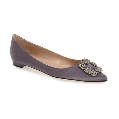 manolo blahnik flat shoes s manolo blahnik hangisi flat 955 liked on