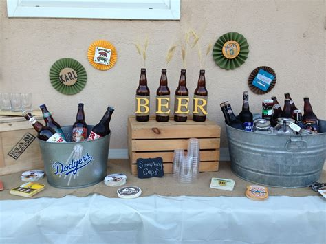 decor themes beer party decorations link goes nowhere beer party