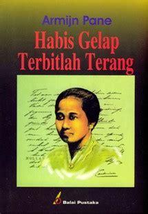 Buku Habis Gelap biografi ra kartini minunolsatusuradadi
