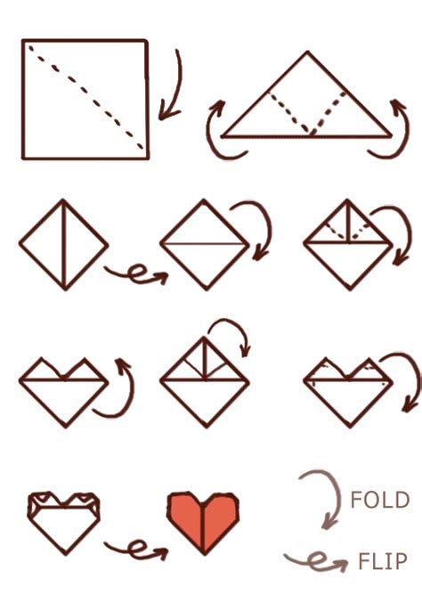 How To Make Hearts From Paper - 5 diy paper crafts idea digezt