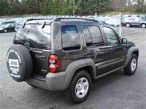 2006 Jeep Liberty Manual Buy Used 2006 Jeep Liberty Sport 4x4 3 7l V6 6 Spd