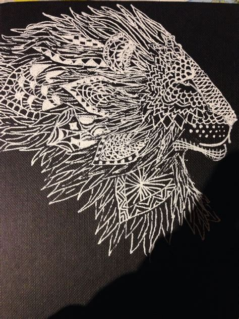 lion zendoodle drawn by justine galindo signed prints 428 best images about lions on pinterest