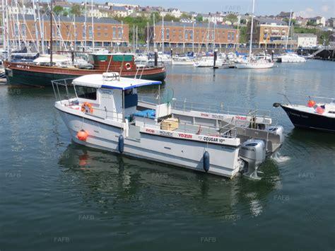 fishing boats for sale pembrokeshire cougar catamaran 10m outboard pembrokeshire fafb
