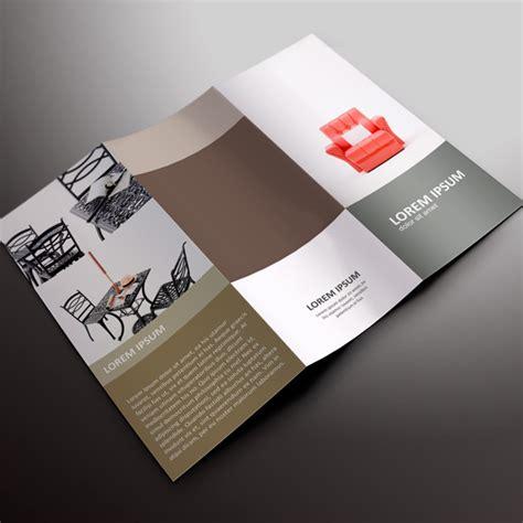 desain brosur modern jasa desain brosur cepat