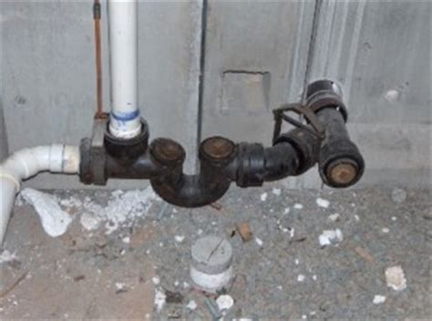 sewer backflow preventer media