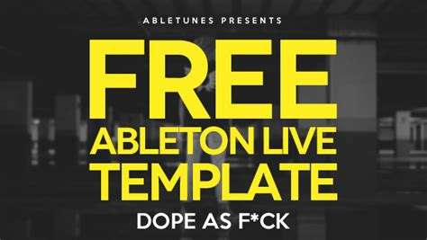 free edm ableton live template by abletunes abletunes blog