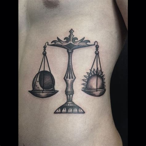 libra scale tattoo 75 extraordinary libra designs meanings 2018