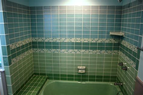 Colored Subway Tile Bathroom ? Thehrtechnologist : Colored Subway Tile is a Fantastic Option