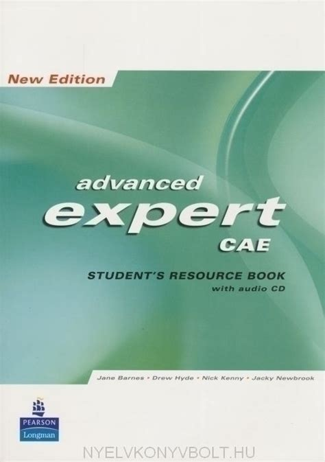 expert advanced 3rd edition 1447961986 advanced expert cae new edition students resource book no key cd pack nyelvk 246 nyv forgalmaz 225 s