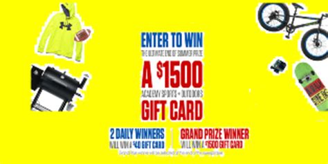 Academy Sports Gift Cards - academy sports win one academy sports plus outdoors gift c giveawayus com