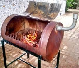 Washer Fire Pit by How To Build Your Own No Weld Drum Bbq Smoker Diy