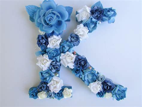 Name Letter K floral name letter flower letter k custom name letter