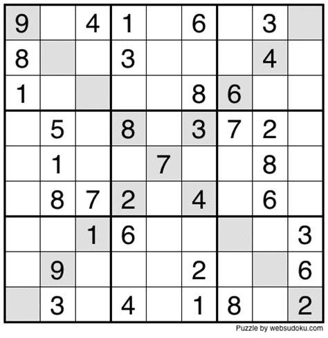 printable sudoku daily web sudoku printable daily sudoku variation