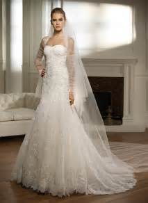 White lace wedding gowns white lace designer wedding dresses are