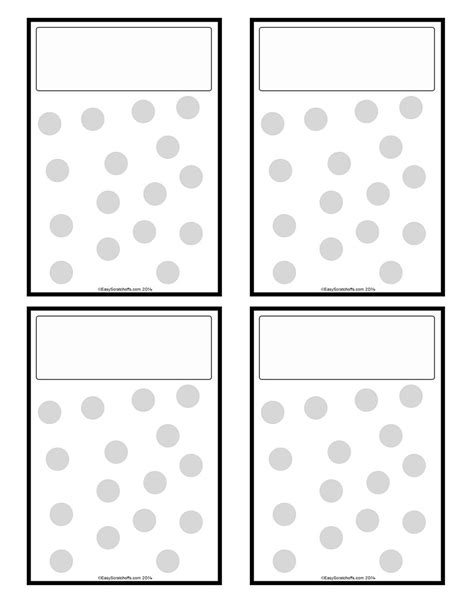 Fundraising Cards Templates by Make Your Own Fundraiser Scratch Cards
