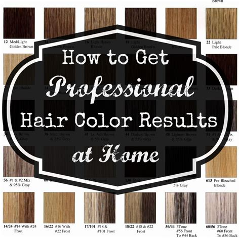how to color a house professional at home hair color get your pretty on