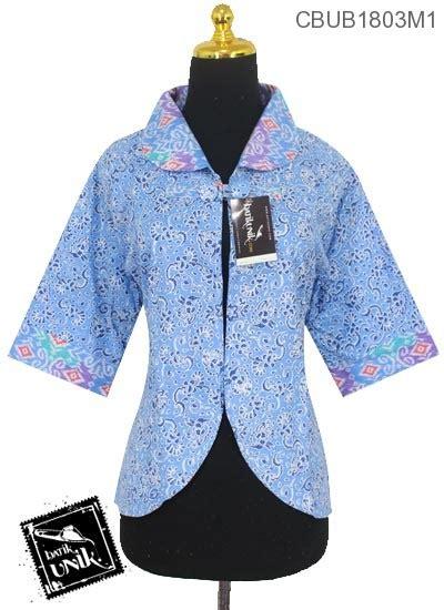 Batik Bolero Motif Bunga Hokokai Murah bolero batik bolak balik motif songket kombinasi bunga