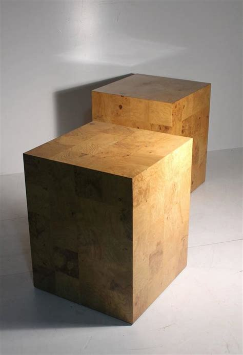 Patchwork Nightstand - milo baughman patchwork nightstands or end tables for sale