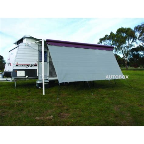 rollout awnings camec privacy screen 2 8m x 1 8m for 10 feet rollout