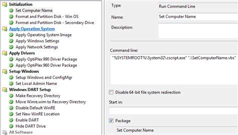 objregex pattern enterprise desktop guidance sccm name computer prompt